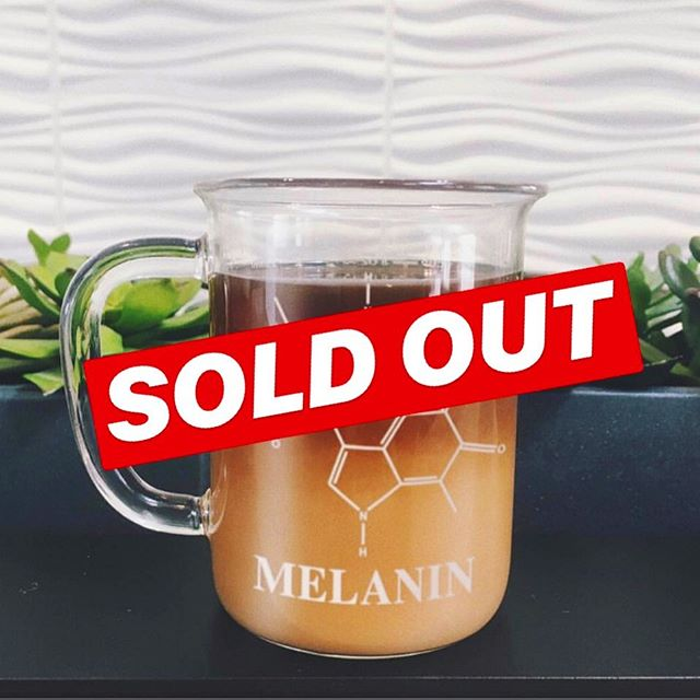 We're all sold out! Thank you all for the overwhelming and continued support! We're restocking to have more in for the holidays and plotting on some limited releases. We kept a couple for ourselves, so keep an eye out for giveaways and other surprises. As always, INSTAGRAM SEES IT FIRST 🤗❤️☕️