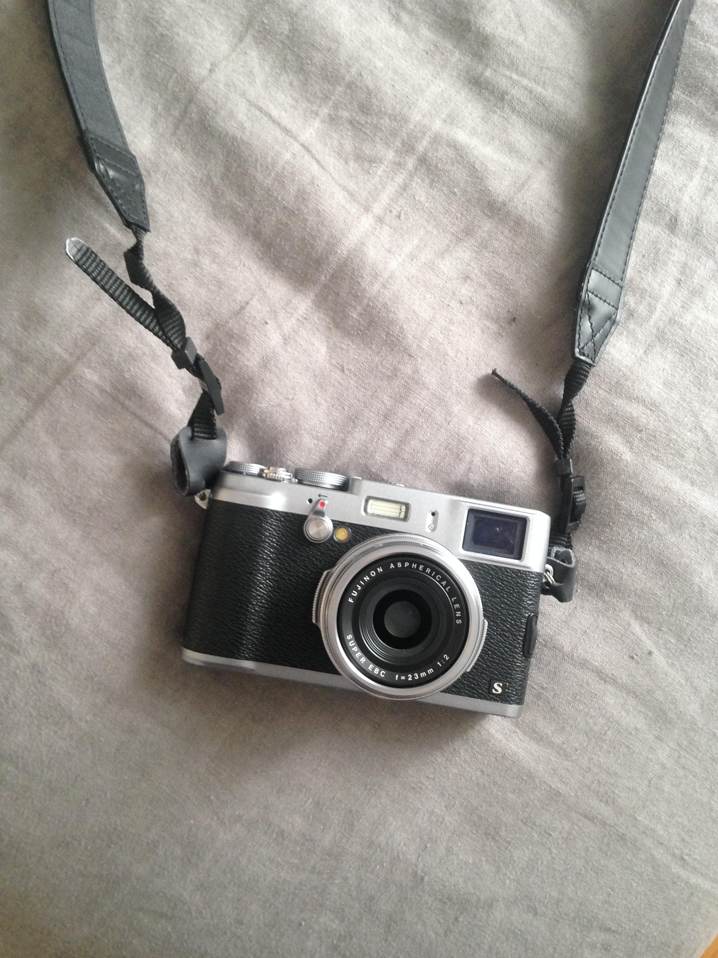 My fujifilm travel camera