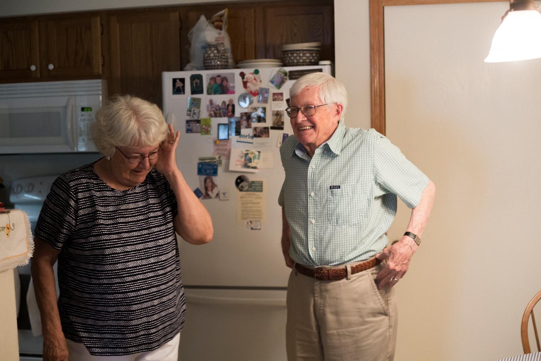 smiling grandma and grandpa photographer new york city