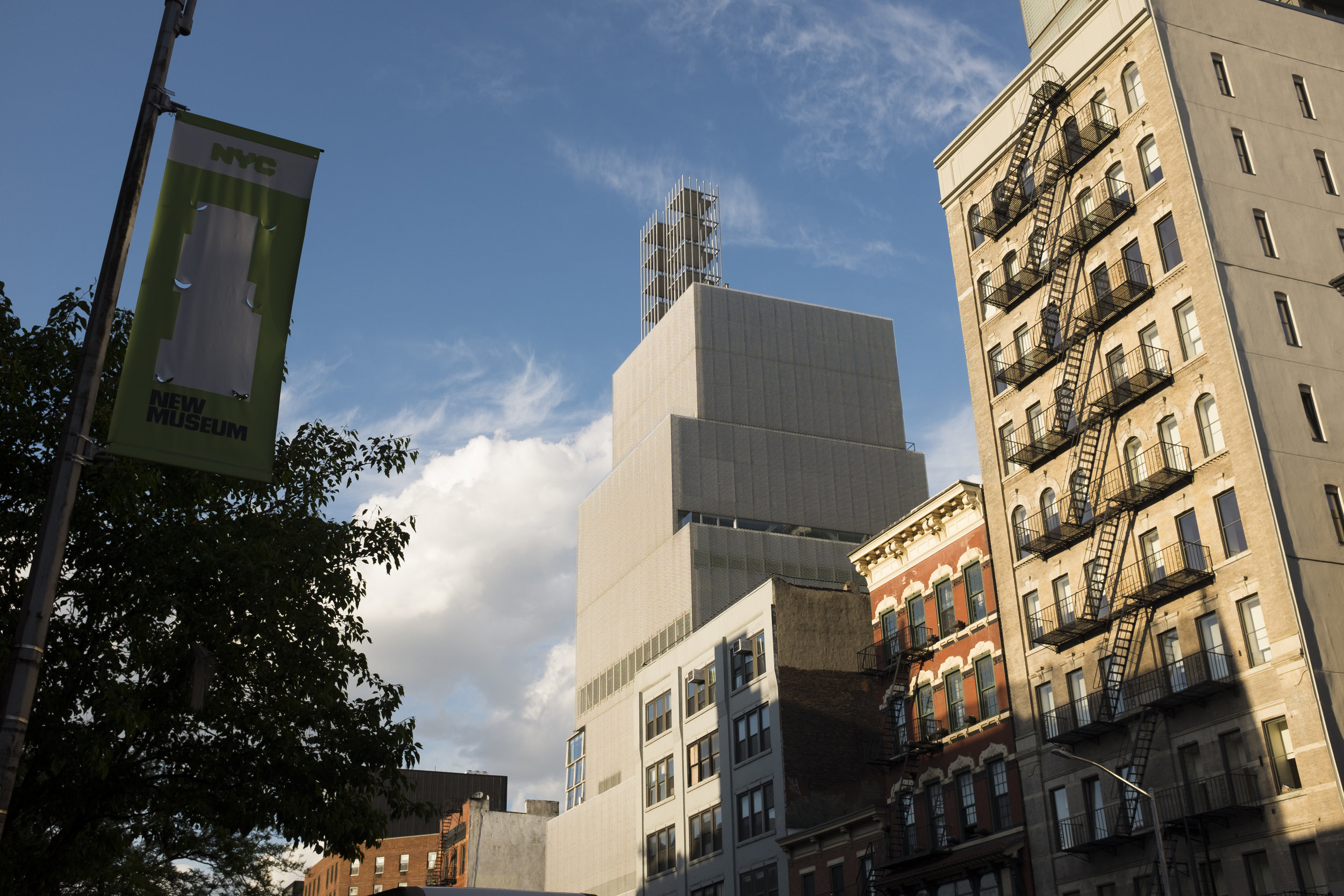 New Museum for Contemporary Art (and rooftop)