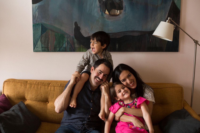 Documentary style family photographer park slope