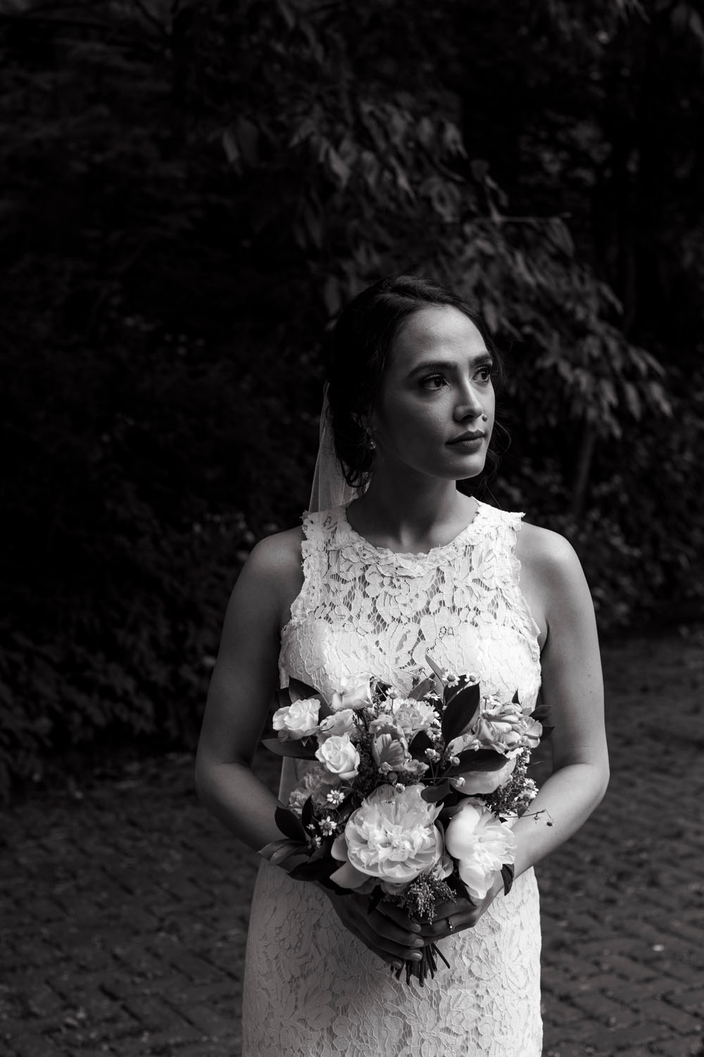 bridal portrait prospect park brooklyn