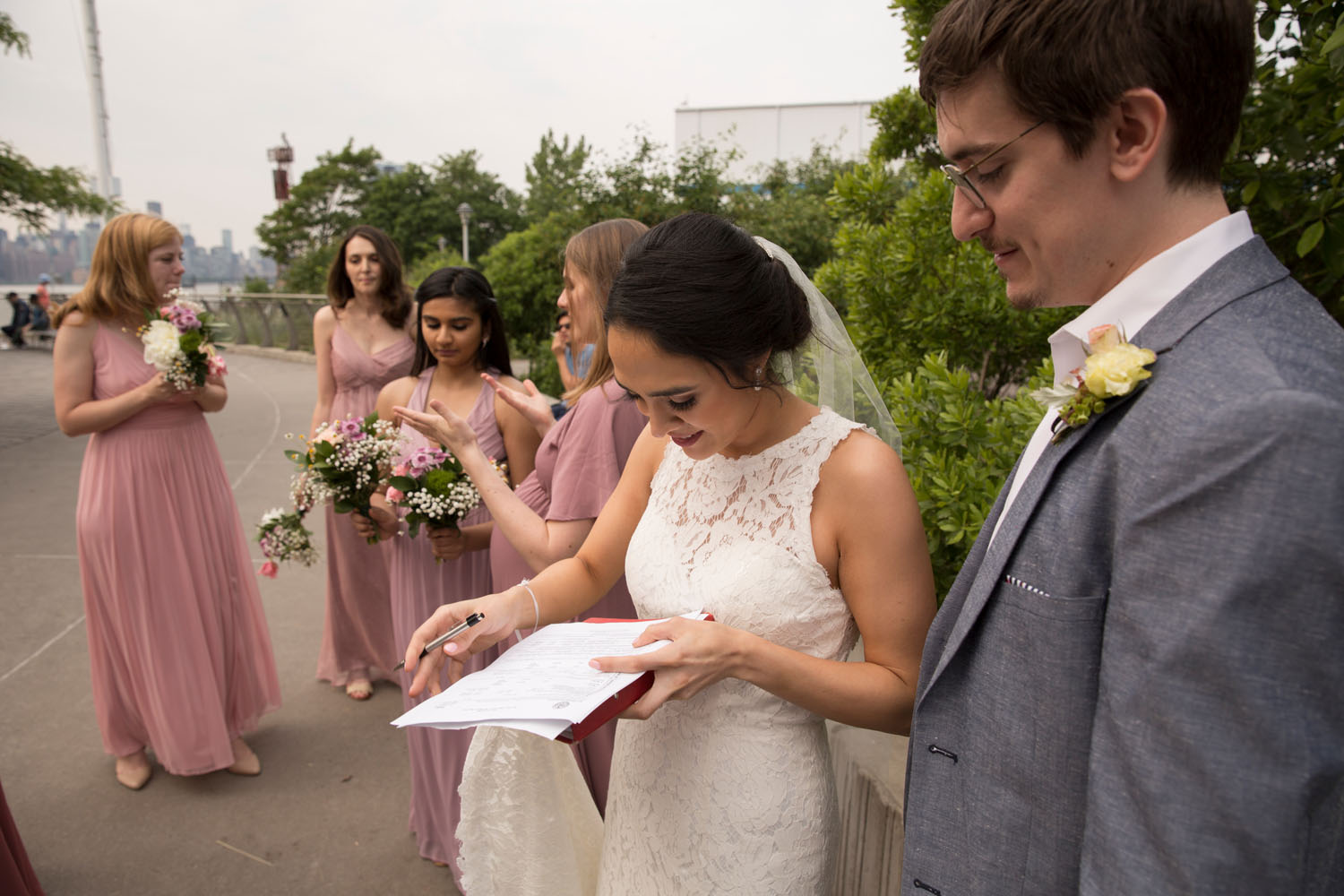 williamsburg wedding photographer bushwick inlet park
