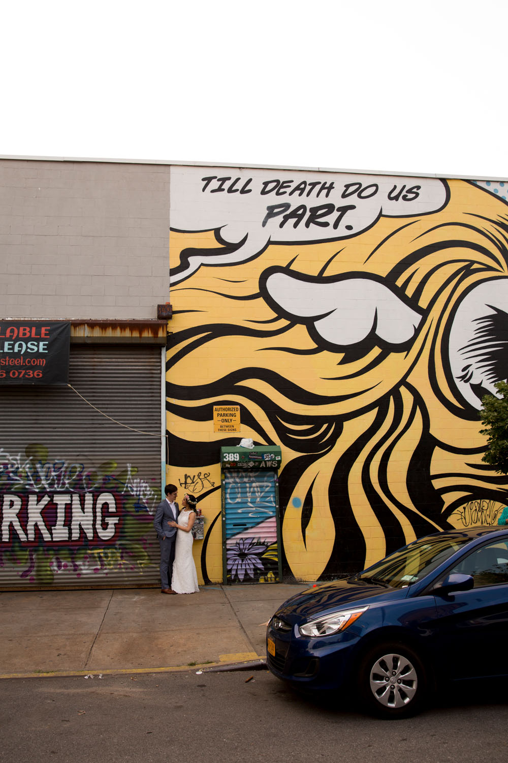 bushwick street art photographer wedding and elopement