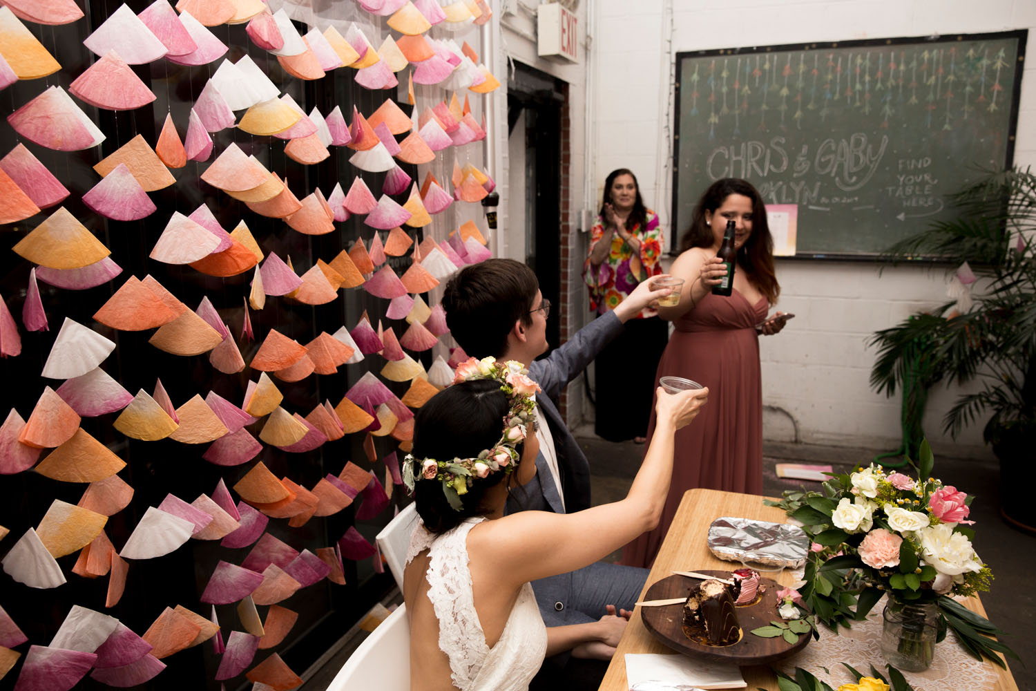 wedding photographer bat haus coworking space bushwick