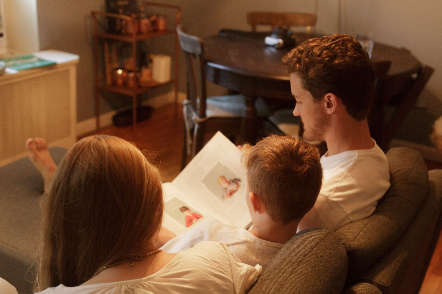 Nontraditional family photography lifestyle