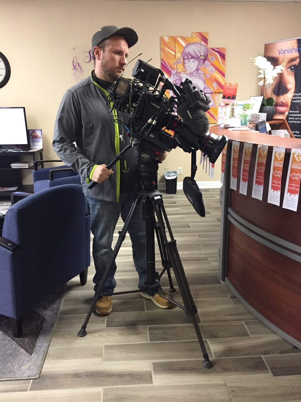 NBC Camera man, Ron