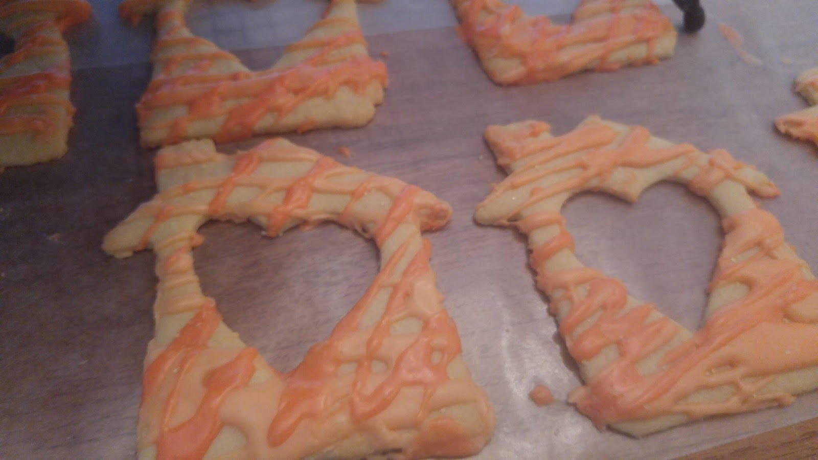 Check out these adorable cookies for the Lazarus House staff!!