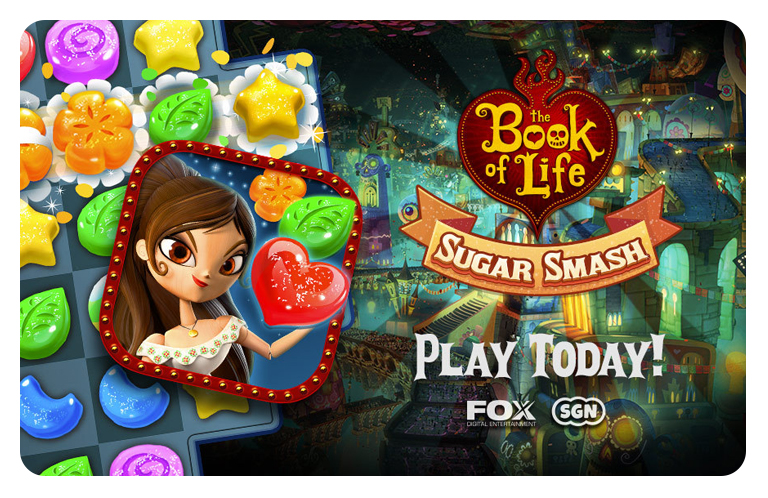 Book of Life: Sugar Smash | Jam City