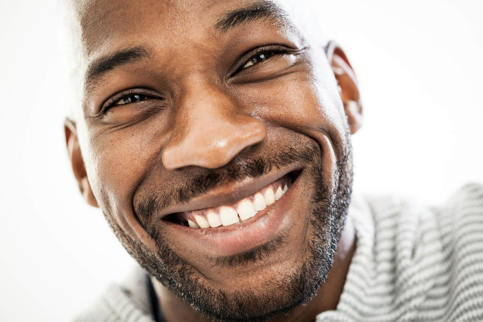 Man with an attractive smile after Six Month Smiles