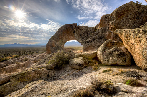 Basin and Range National Monument  -  By BLM Nevada (Basin and Range National Monument) [CC BY 2.0 (http://creativecommons.org/licenses/by/2.0)], via Wikimedia Commons