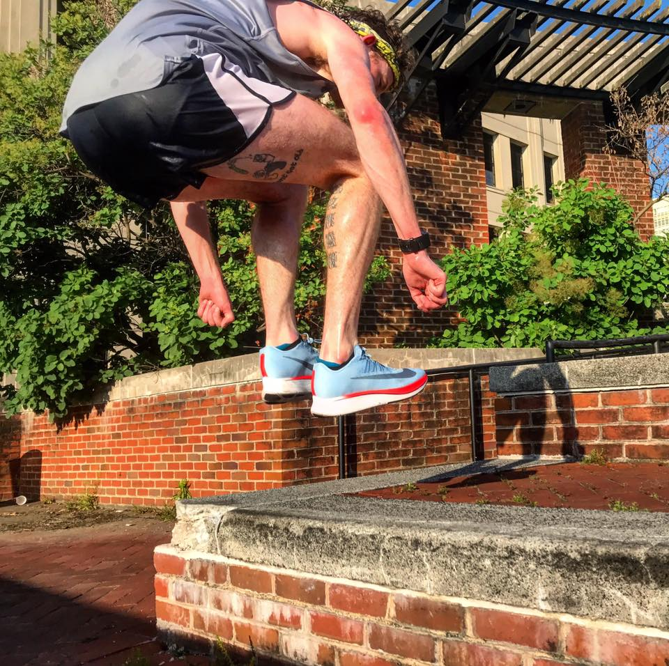 Zoom Fly-ing through cross training at a  November Project Philadelphia  workout
