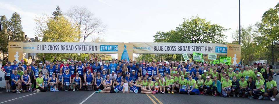 Photo via ACS Team DetermiNation - at the Broad Street Run start