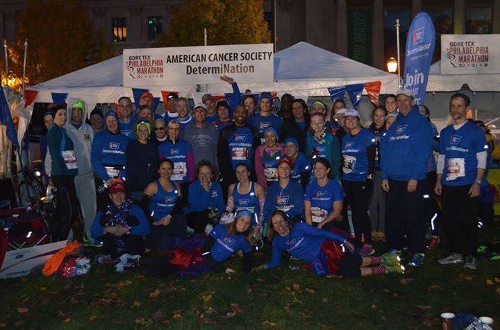 Photo via Team DetermiNation - at the 2015 Philadelphia Marathon & Half Marathon