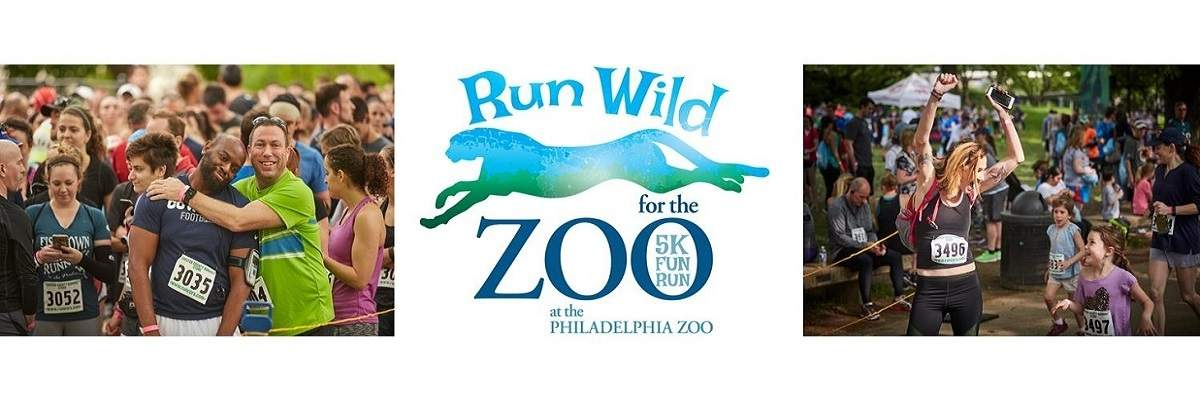 Lace up your running shoes and hit the pavement - while helping to save wildlife along the way!   Join hundreds of runners and walkers as they lace up their running shoes for the second-annual  Run Wild for the Zoo 5K  at Philadelphia Zoo! Run or walk through our beautiful and unique campus, enjoy fun activities and entertainment, or stop by your favorite exhibit – all while raising money for some of your favorite furry friends.  Run Wild for the Zoo 5K  proceeds support the more than 1300 different animals that live at the Zoo by providing funds for nutrition, habitat enhancements, medical care, enrichment activities, and more.  Event check-in will open at 6:30 a.m. and the first wave 5K run will start promptly at 7:30 a.m, followed by the second wave at 8:05 a.m. Runners who expect to finish under 30 minutes should register for Wave 1. We suggest arriving with enough time to park, check-in, and enjoy pre-race activities. The Zoo will open at its regular time of 9:30 a.m. for non-event guests. All animal areas will open during regular business hours at 9:30 a.m.  Enjoy crafts and activities for children, specialty beverages for the adults, music, entertainment, photo ops and surprise giveaways!  This is a rain or shine event. Zoo Members receive a discounted participant fee (see FAQ).  For additional information visit  www.PhiladelphiaZoo.org .  Website