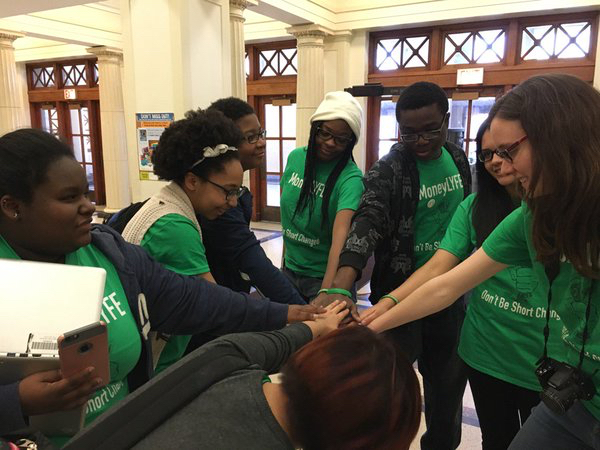 MoneyLYFE celebrates a great event at Lindblom Math and Science Academy, Chicago.