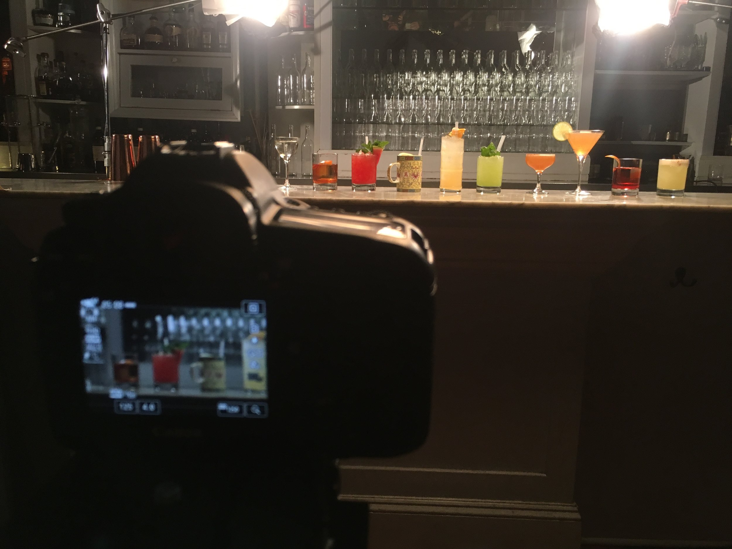 Sometimes it is filming a cheese burger, sometimes a person, and sometimes its hand crafted cocktails made by the world renowned bartender, Angus Winchester. The Intercontinental Hotel brought on RCK to this three day production at the Violet Hour with the talented DP Mark Barry.