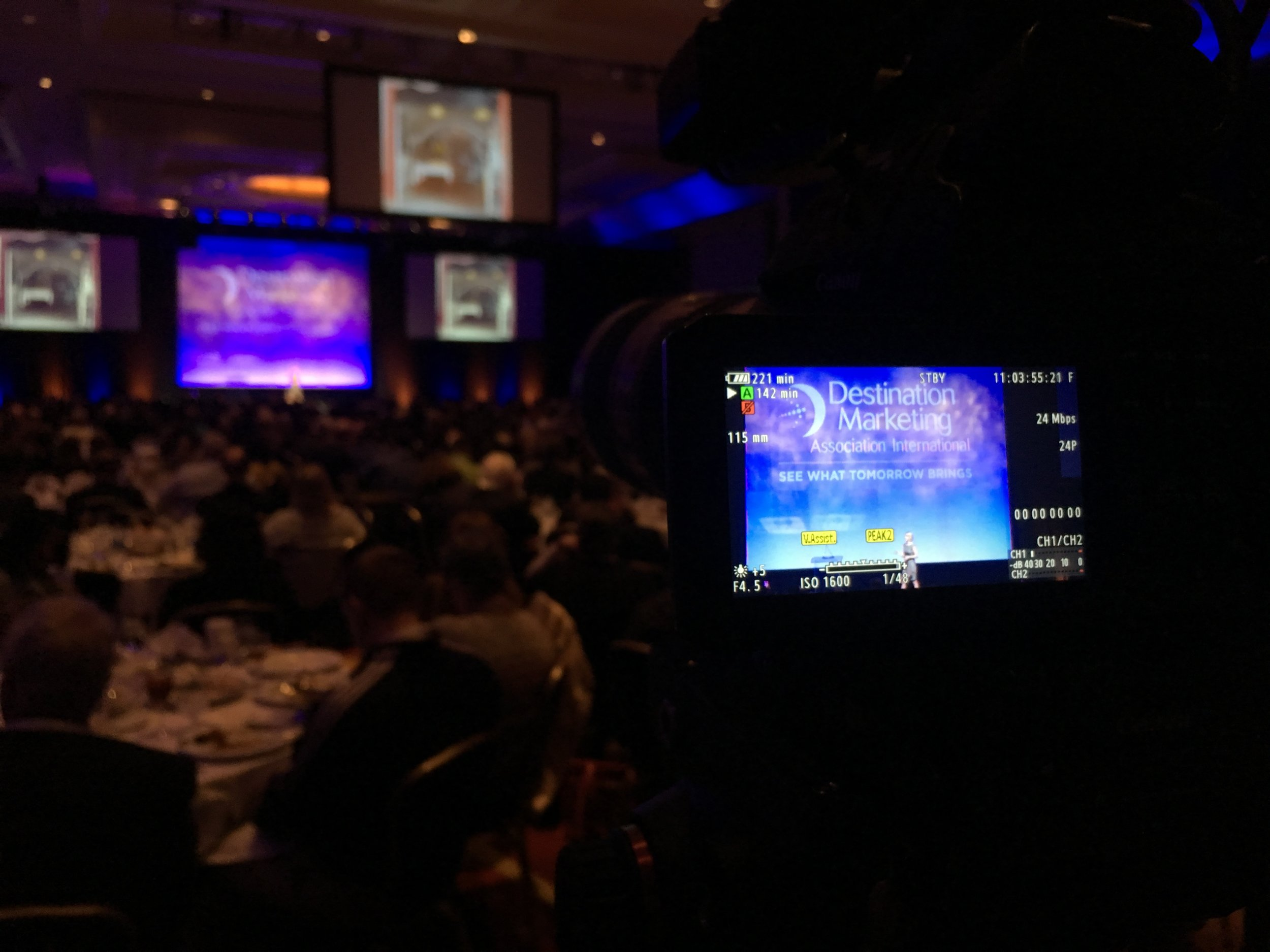 """The conference had a nice tone to it, and the b-roll that we gathered will surely help its success in the years to come. It was great to see some special speakers and the performance by """"The Fray."""" A short trip to D.C., but well worth it."""