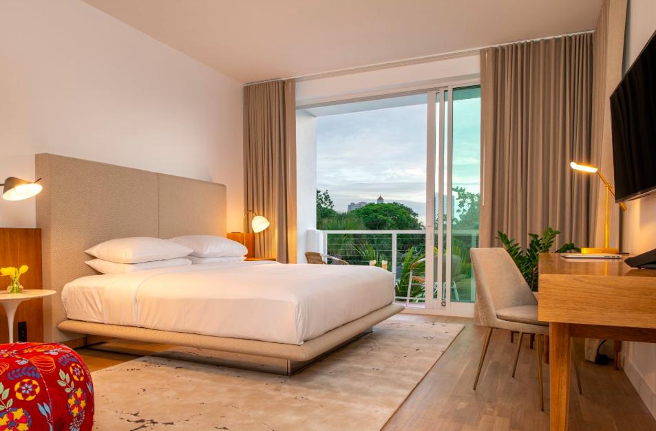 A suite at Sarasota Modern