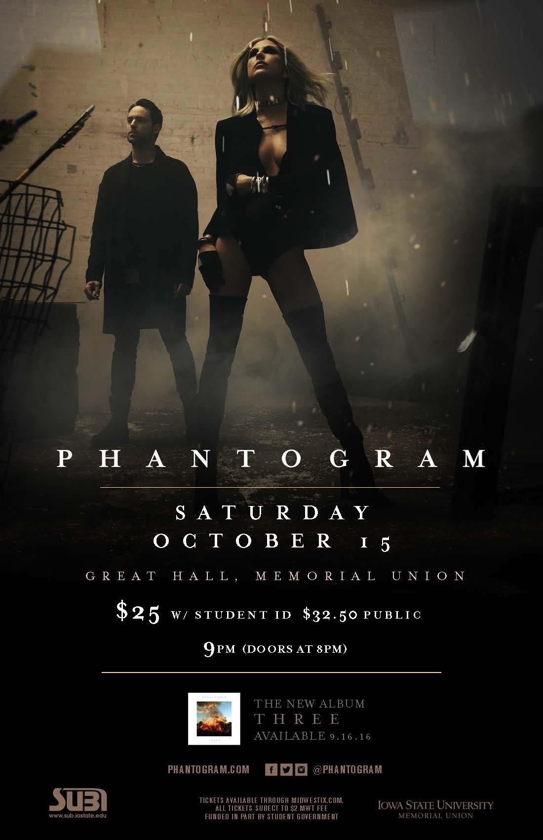 Phantogram concert poster