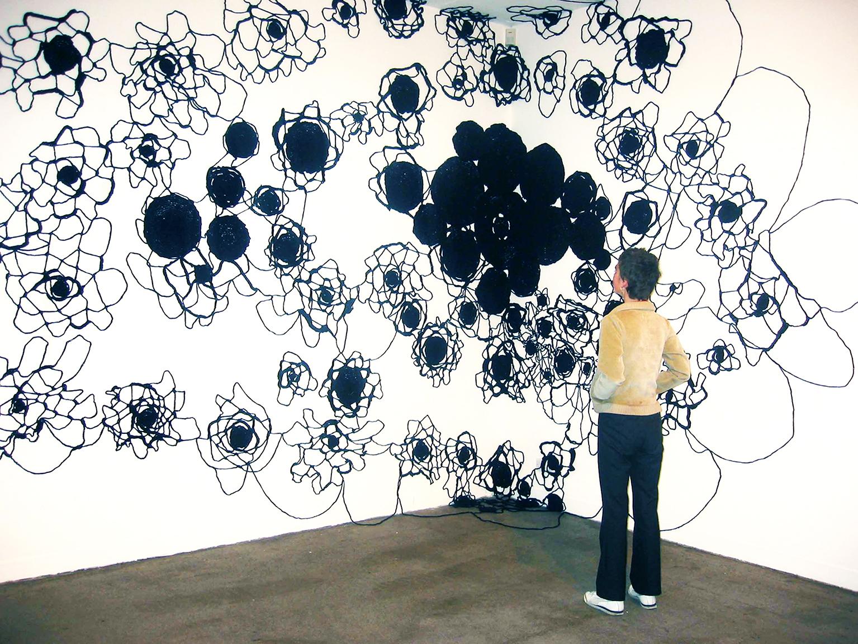 137.5 Degrees. Installation view,Temple Bar Gallery & Studios, Dublin, Ireland, September - October 2002.