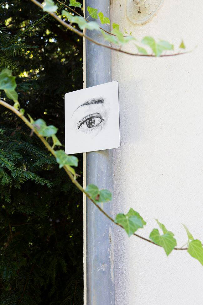 Katie Holten,  Walk With Me, 2014, public artwork commissioned for  Hidden View in Offenbach, Germany.