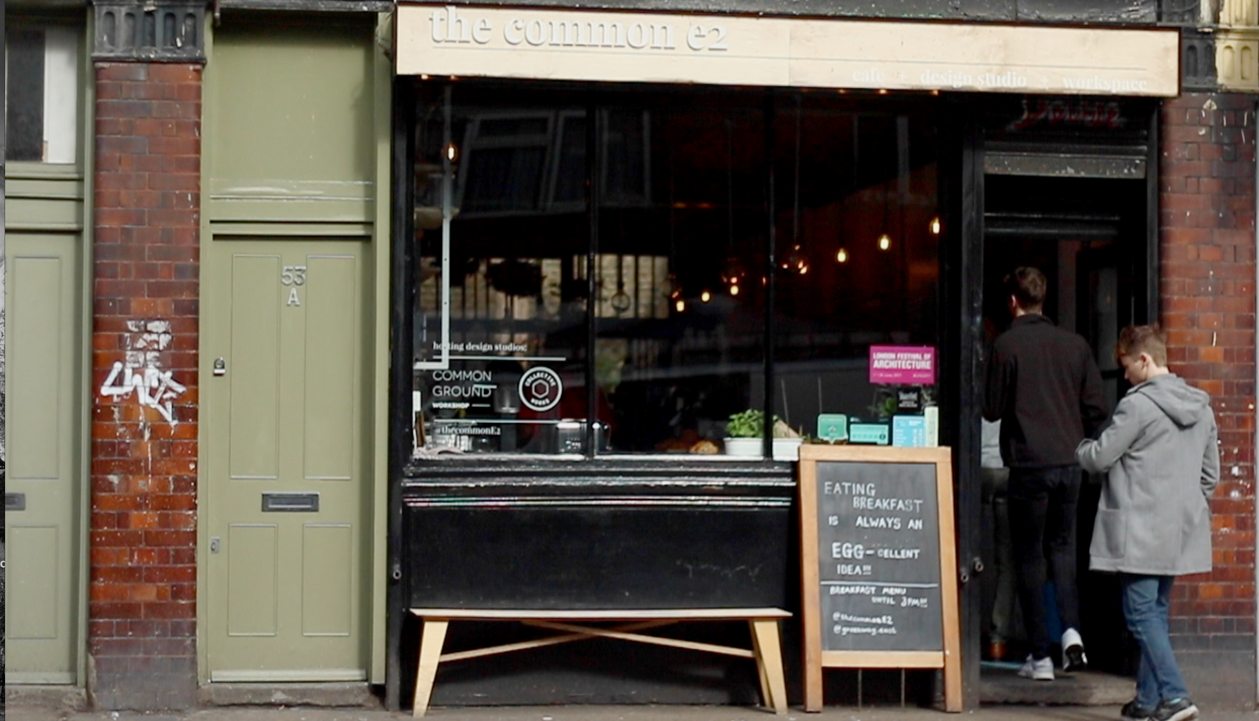 the common e2 open 7 days a week with all day brunch