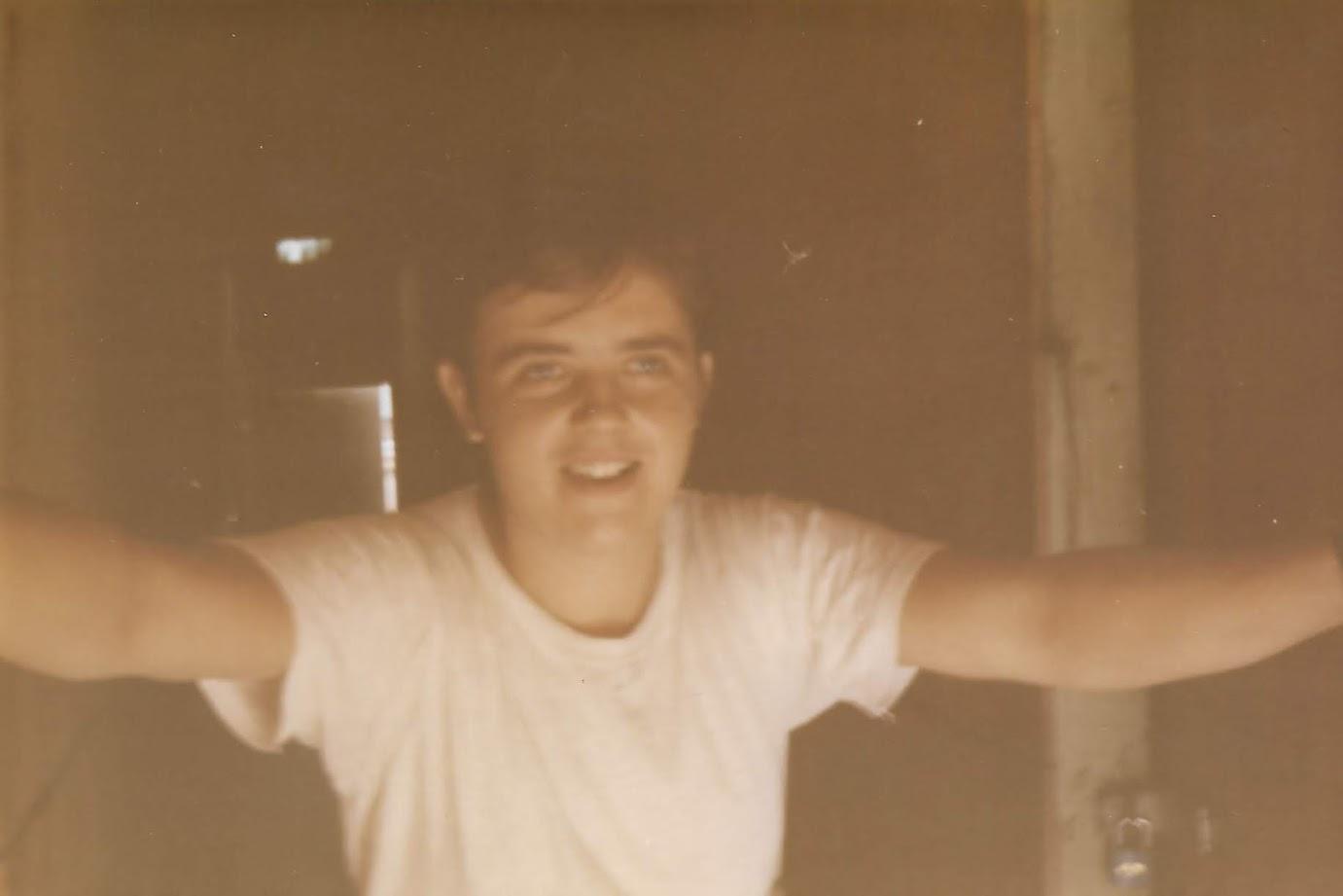 Kid Dad was a cutie.