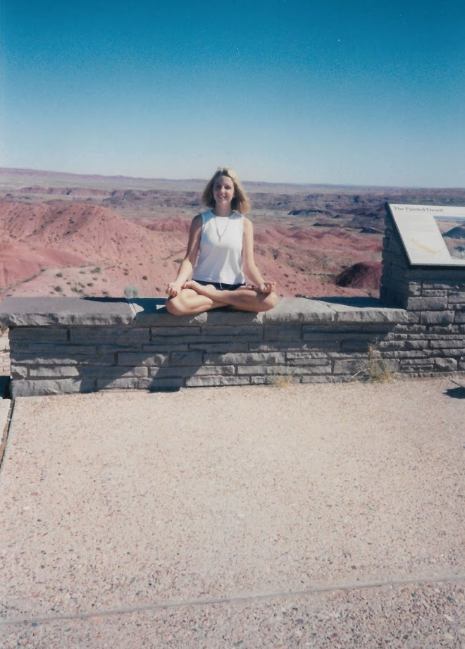 Found about three dozen variations on this theme. Sister in Deserts: a photo series.