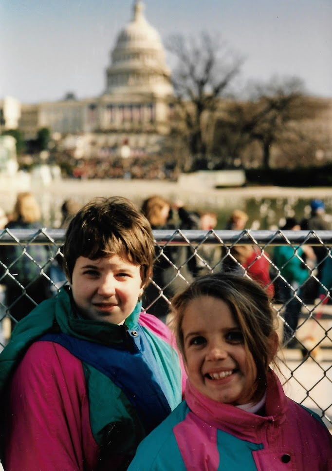 1993: a Presidential inauguration that people actually attended (ooooooh!)