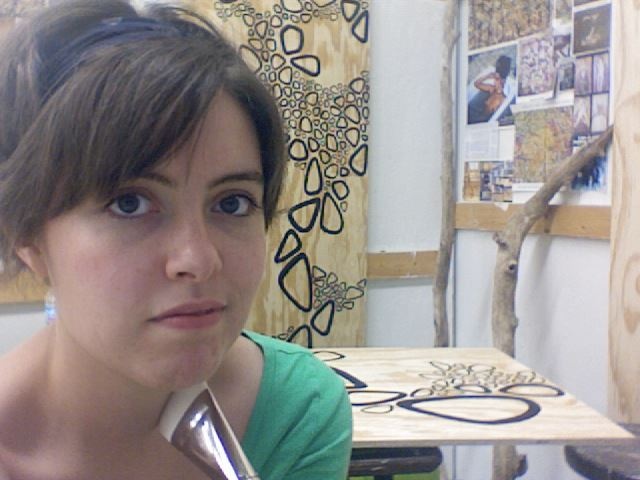 Here I am my fifth year of art school, still somehow uncertain.