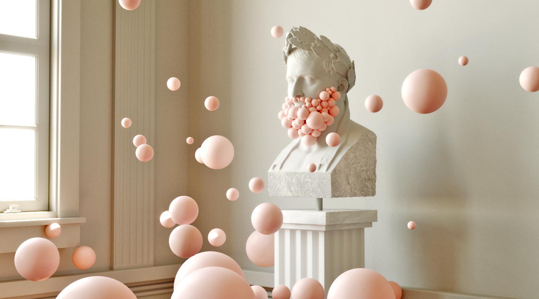 Virtual installation by Federico Piccirillo