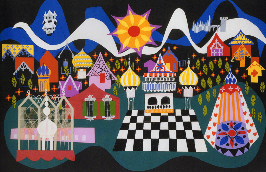 Small World art by Mary Blair
