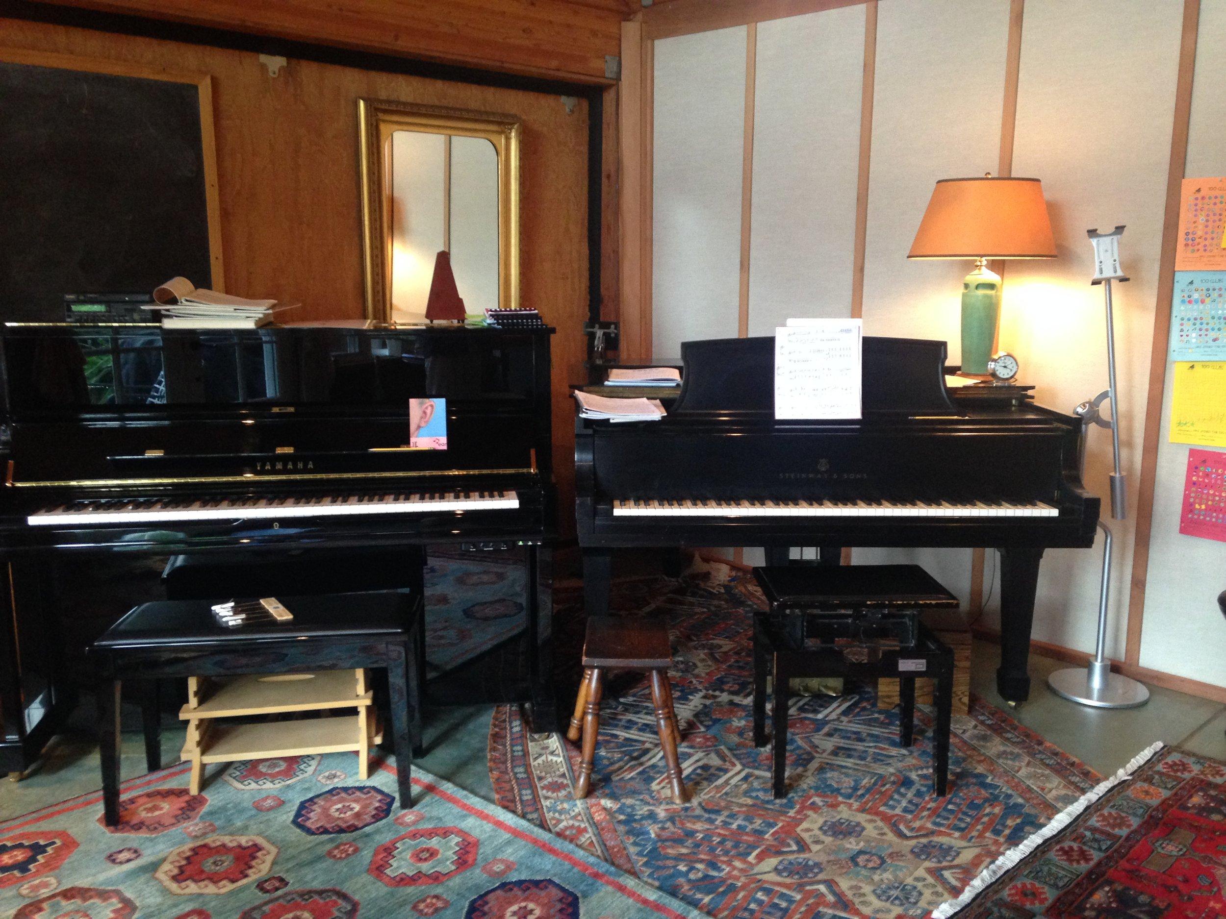 Teaching Pianos Studio Shot