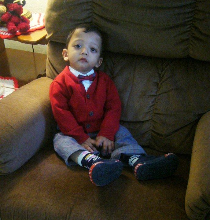 Arshaan, Christmas 2009