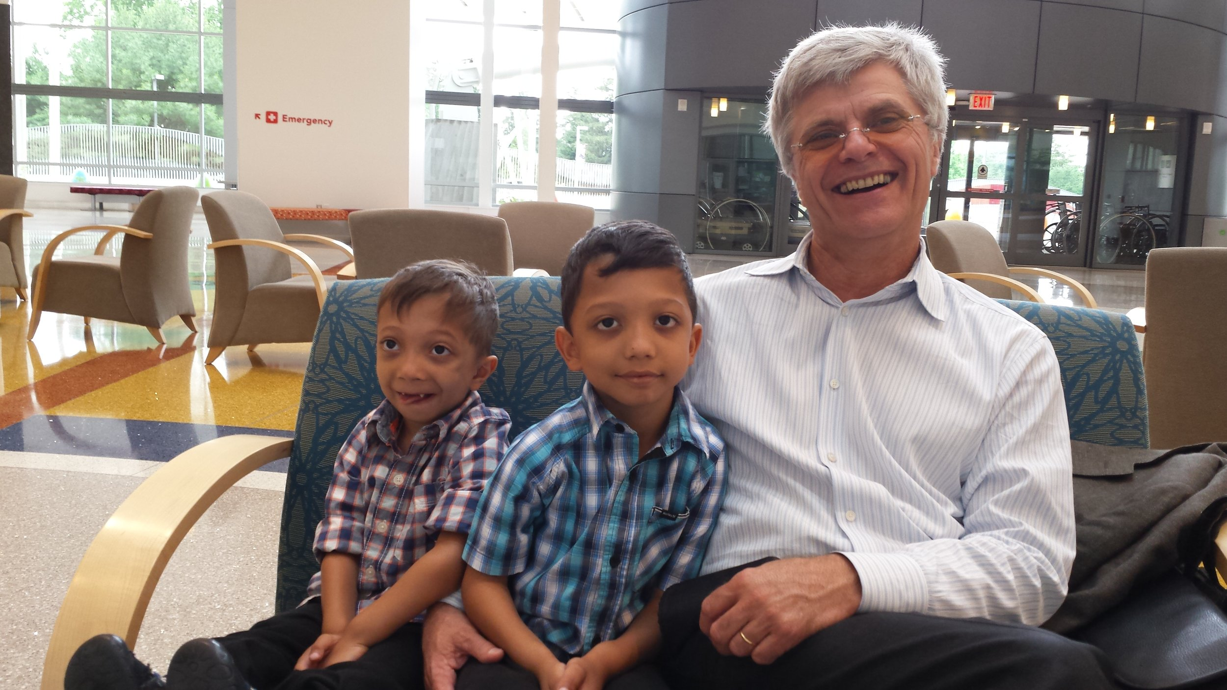 Jahan, Arshaan and Dr. Jueppner