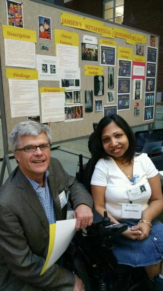 Dr. Jueppner and Neena
