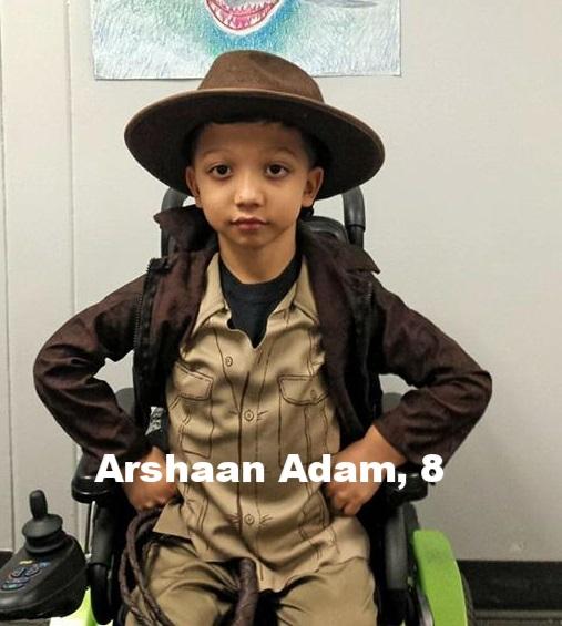 Arshaan Adam, 8