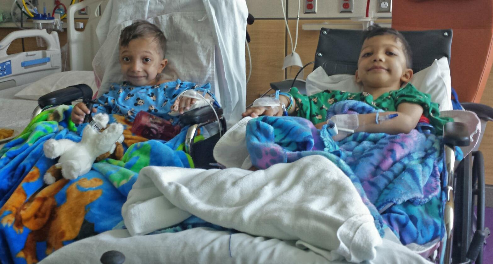 Bilateral femoral osteotomies, A I Dupont Hospial for Children, Delaware