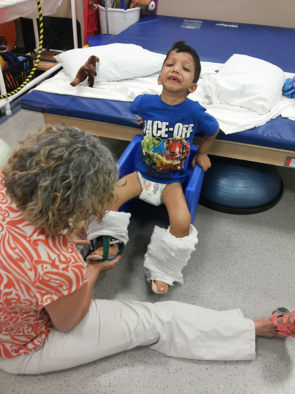 Physical Therapy, A I Dupont Hospital for Children, Delaware