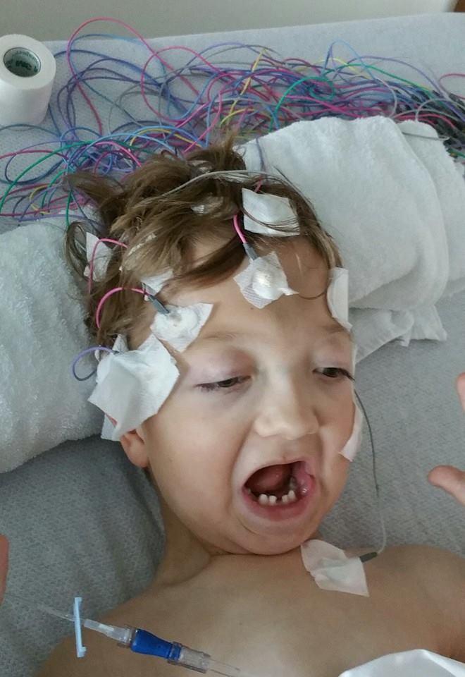Levi, Sleep Study, Ocean Springs Hospital, Mississippi