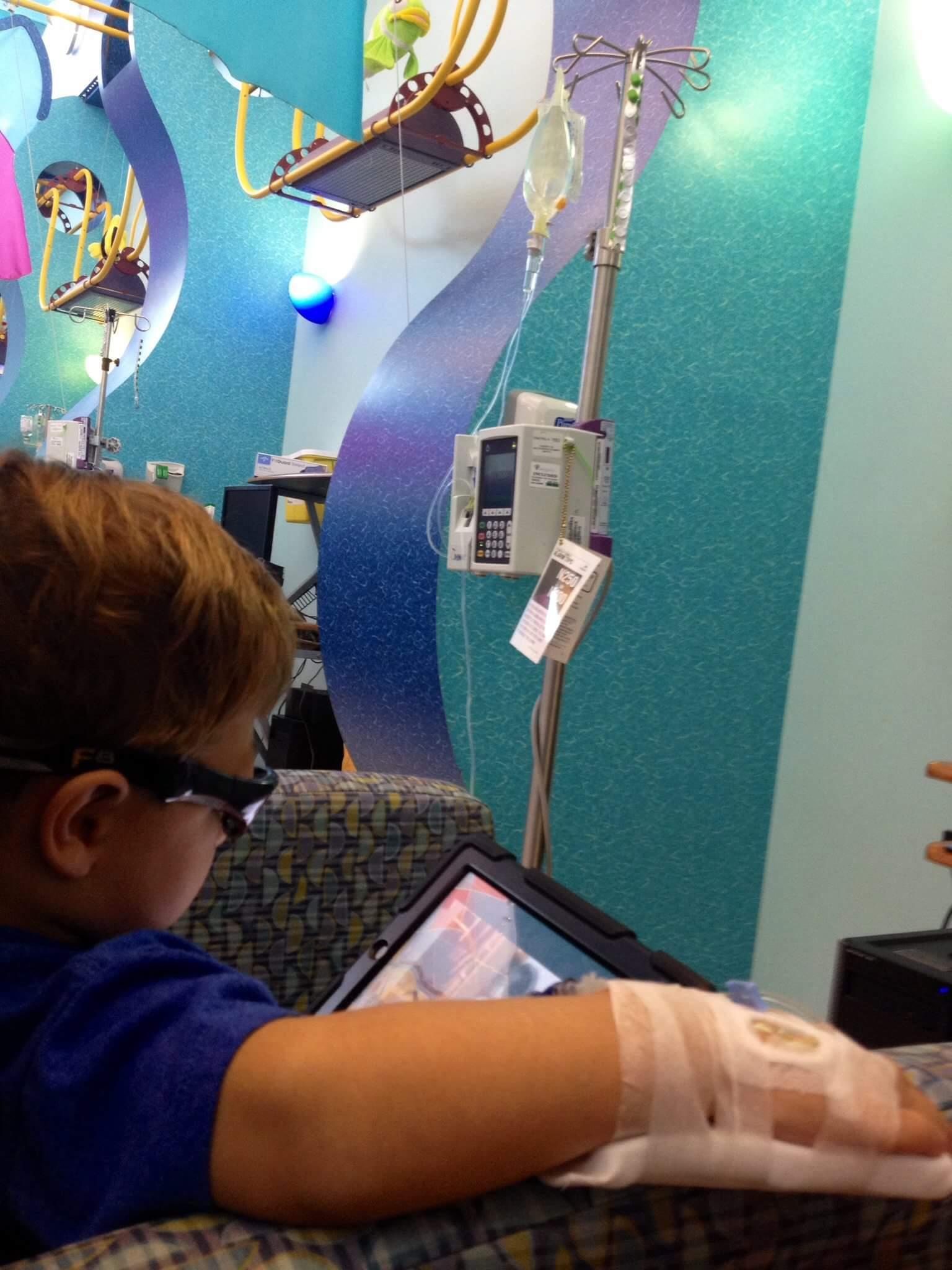 Levi, Pamidonate IV infusion, IV infusion, USA Women & Children Hospital, Mobile, Alabama