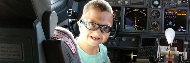 Levi on his medical journey thanks to Miracle Flights