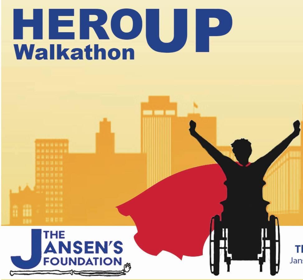 Jansen's Walkathon 2019 - Poster Designed by Katherine Quaas and Shannon Spulak