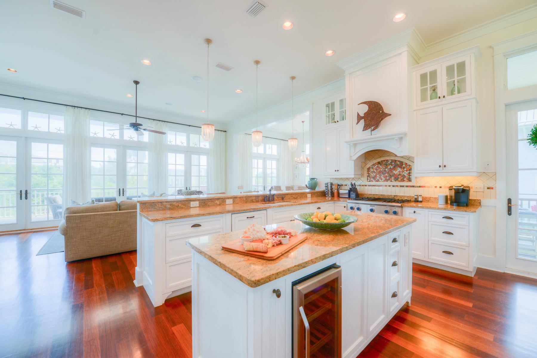 Watercolor florida beach house kitchen white.jpeg