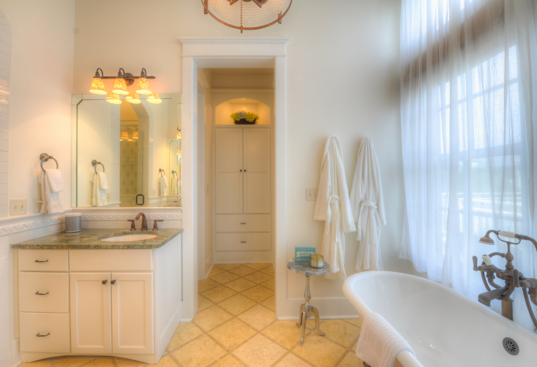 Watercolor Florida beach house master bath.jpeg