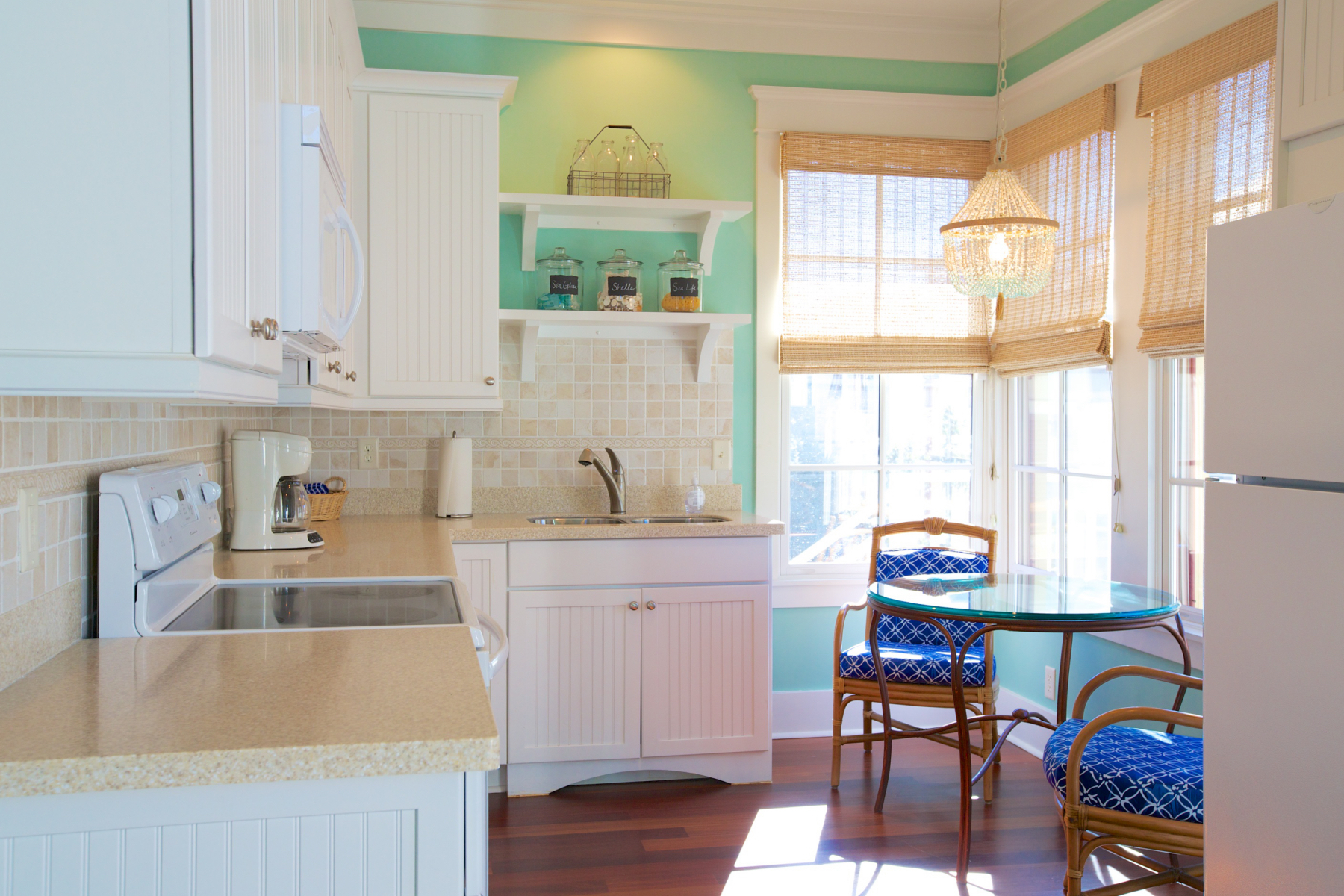 Watercolor florida beach house carriage kitchen.jpeg