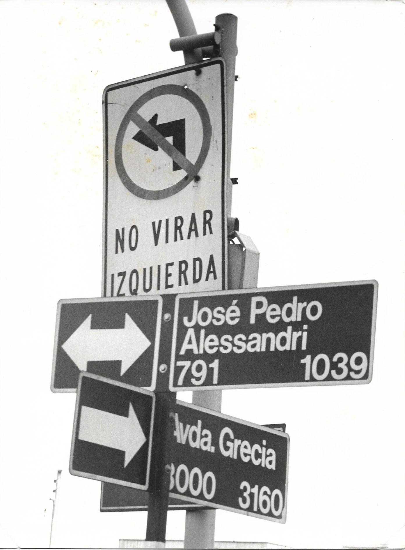 <span>'No Virar a la Izquierda'</span>