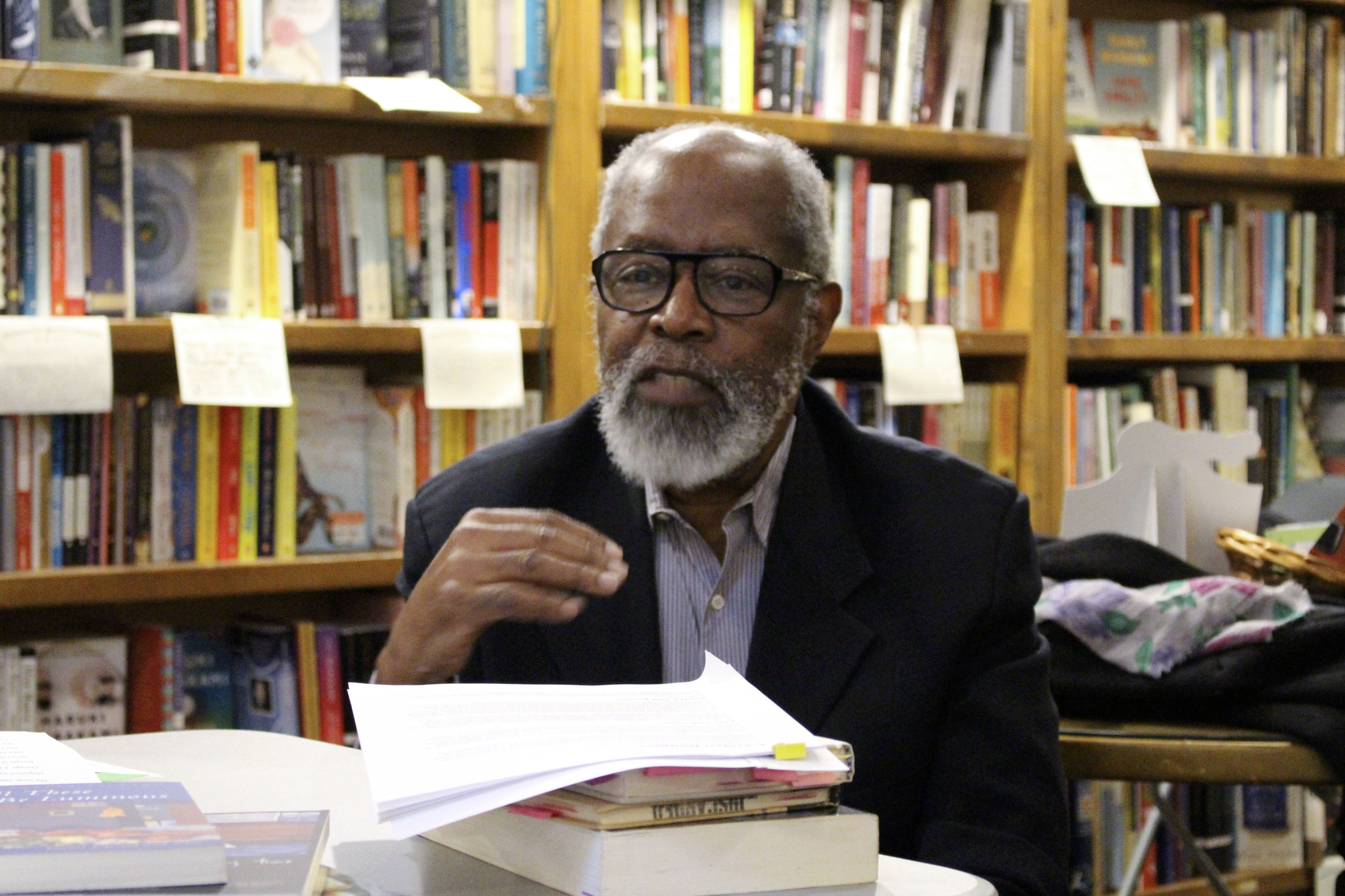 Poet Ed Roberson discusses the Chicago canon.