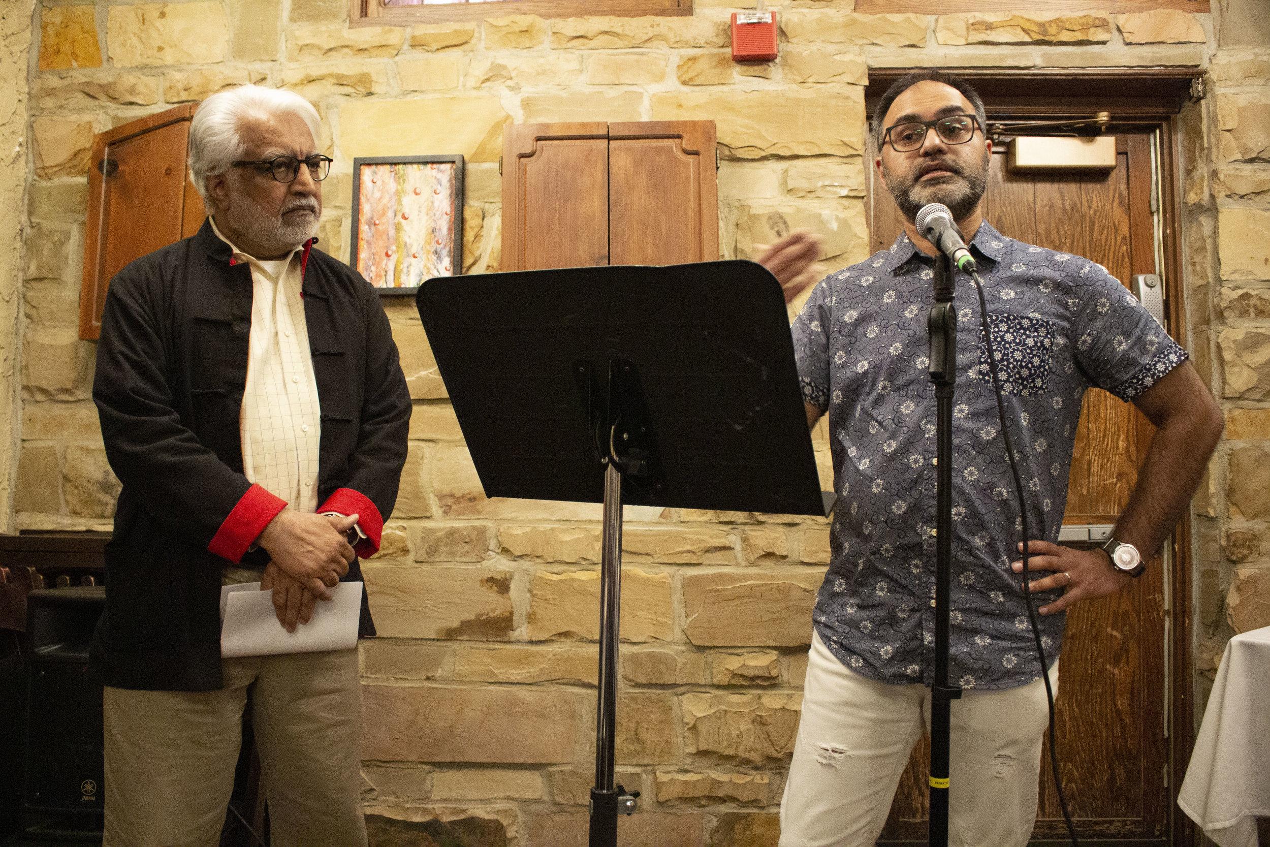Zafar Malik and Faisal Mohyuddin.